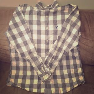 American Eagle outfitters plaid button down